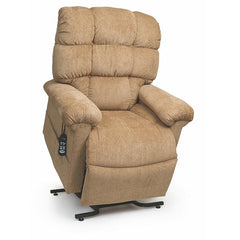 UltraComfort UC556-M Medium Zero Gravity Lift Chair in Wicker color angled view