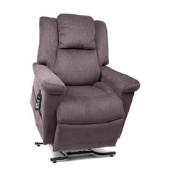 UltraComfort UC682 Medium Zero Gravity Lift Chair in Granite color slightly raised up