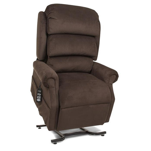 UltraComfort UC550-L Large Zero Gravity Lift Chair coffeehouse front view