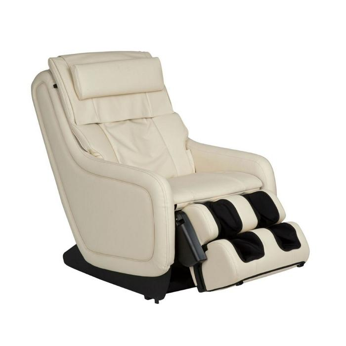 Human Touch ZeroG 5.0 Massage Chair in white color side view