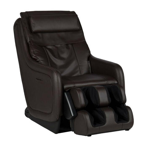 Human Touch ZeroG 5.0 Massage Chair in brown side view