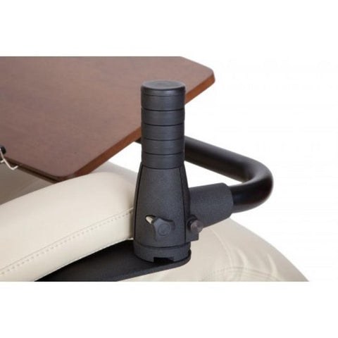 Human Touch Perfect Chair Laptop Desk Handle close up