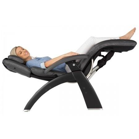 Human Touch Perfect Chair PC-LiVE PC-600 Zero Gravity Recliner with person fully reclined