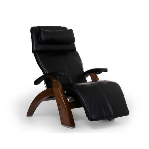 Human Touch Perfect Chair PC-LiVE PC-600 Zero Gravity Recliner Black Walnut