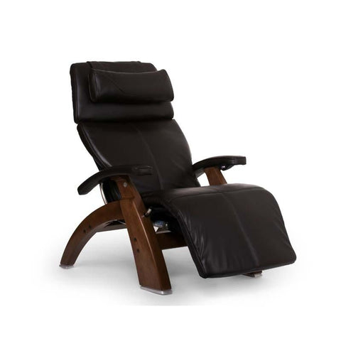 Human Touch Perfect Chair PC-LiVE PC-600 Zero Gravity Recliner espresso walnut