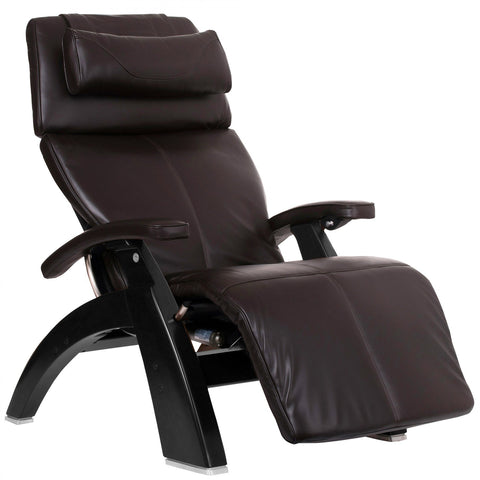 Human Touch Perfect Chair PC-LiVE PC-600 Zero Gravity Recliner Espresso Black Base