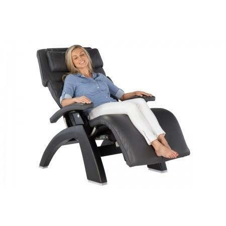 Human Touch Perfect Chair PC-LiVE PC-610 Zero Gravity Recliner with person
