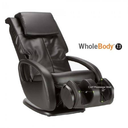 "Human Touch WholeBody 7.1 Massage Chair calf massage well 4"" 12"""