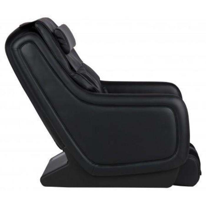 Human Touch ZeroG 5.0 Massage Chair in black color side view with white background