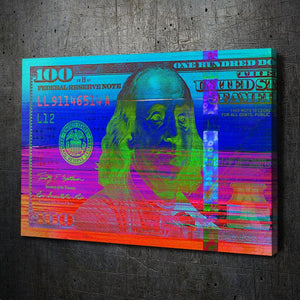 $100 Bill Rainbow - Artwork Addict