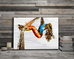 Acrobat Painting - Artwork Addict