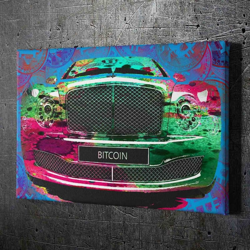 Bitcoin Bentley - Artwork Addict