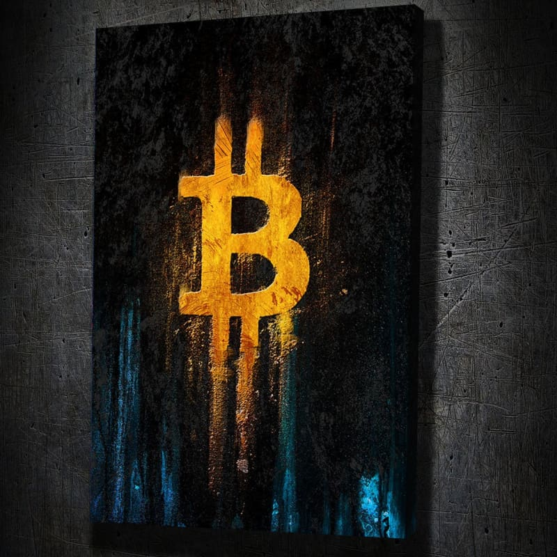 Bitcoin Gold II - Artwork Addict