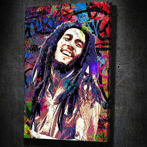 Bob Marley Graffiti - Artwork Addict
