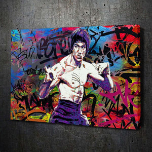 Bruce Lee Graffiti - Artwork Addict