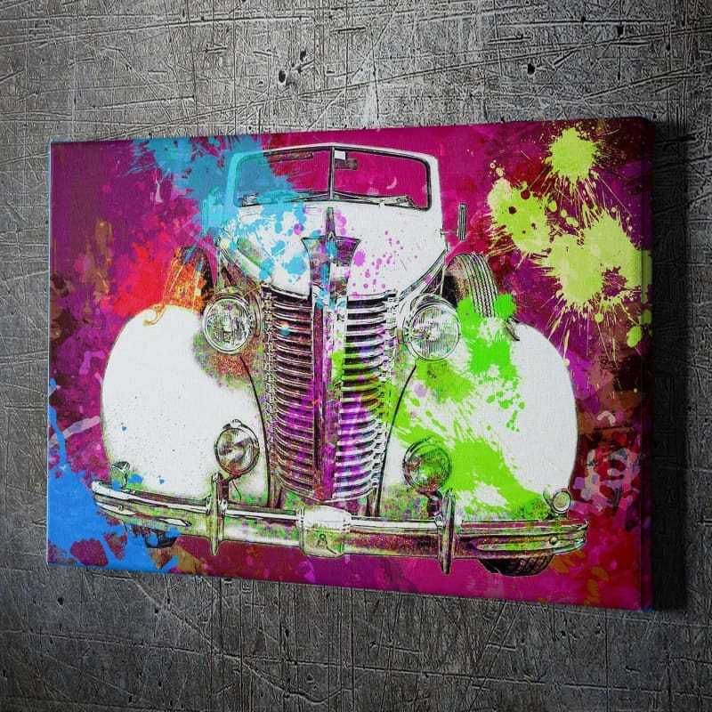 Classic Car Splatter - Artwork Addict