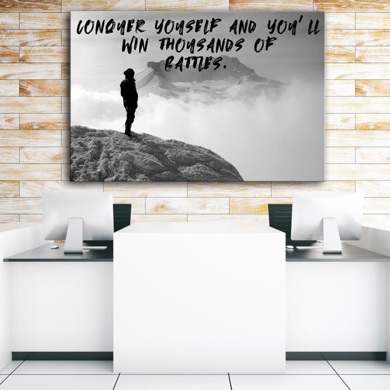 Conquer Yourself - Artwork Addict