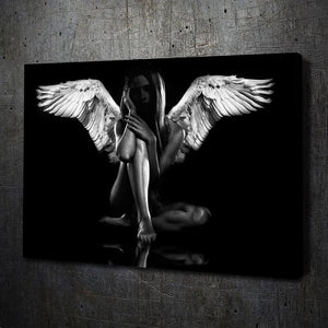 Dark Angel Beauty - Artwork Addict