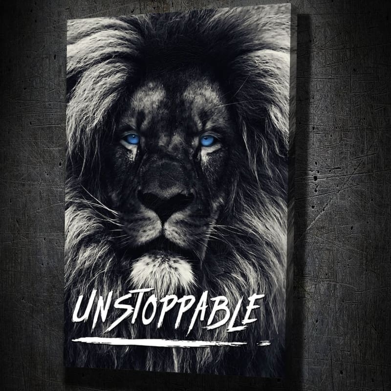 Dark Lion Blue Eyes Quote - Artwork Addict