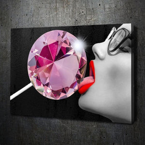 Diamond Lollipop Beauty - Artwork Addict