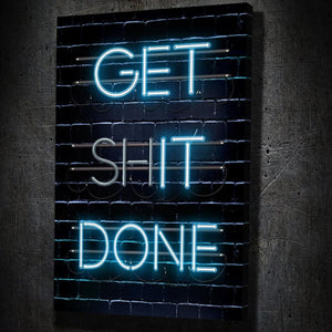 Get Shit Done - Artwork Addict