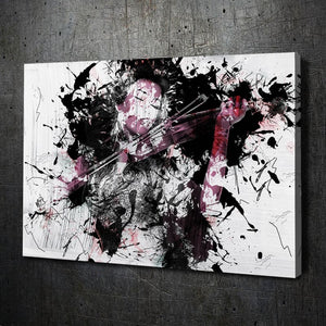 Girl 2 Abstract Ink - Artwork Addict
