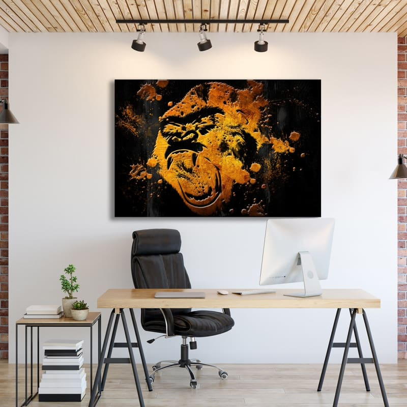 Gold Mad Gorilla - Artwork Addict
