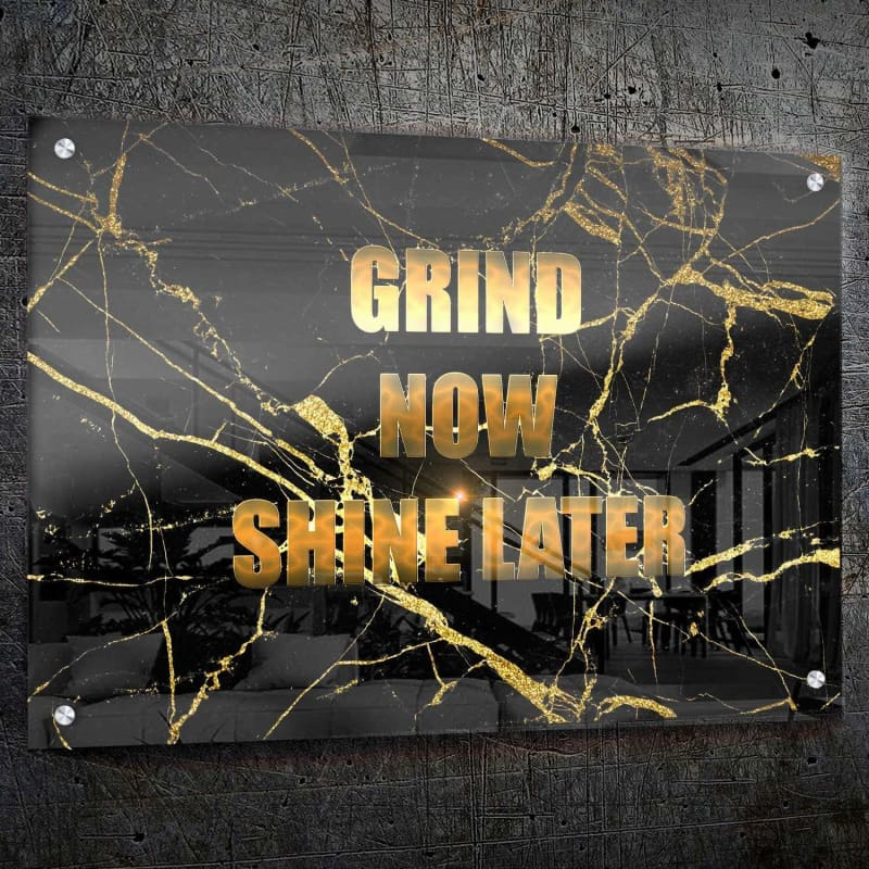 Grind & Shine - Artwork Addict