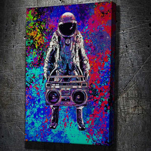 Hip Hop Astronaut - Artwork Addict