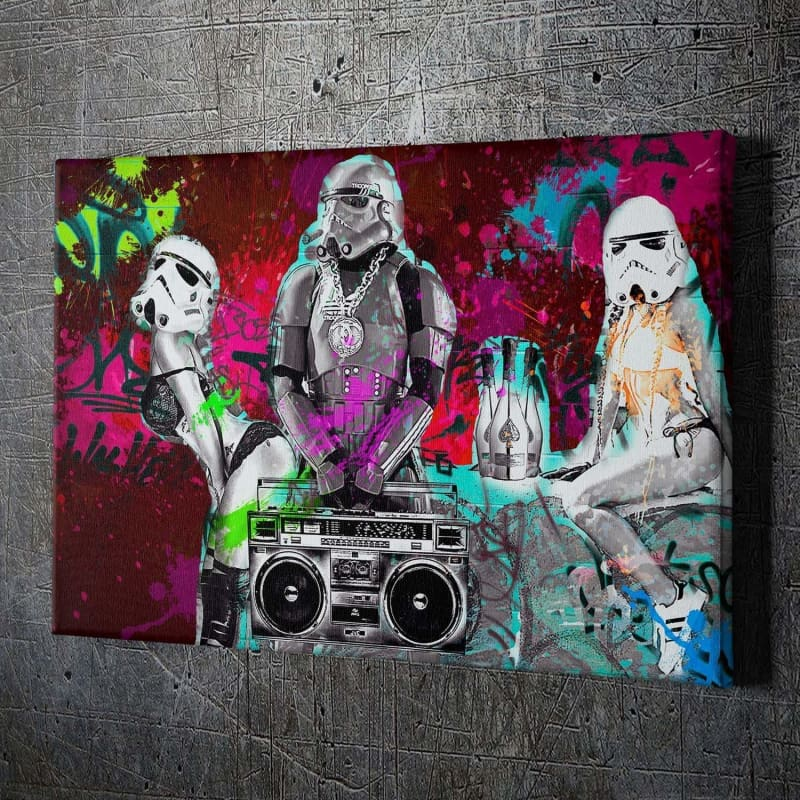 Hip-Hop Stormtrooper - Artwork Addict