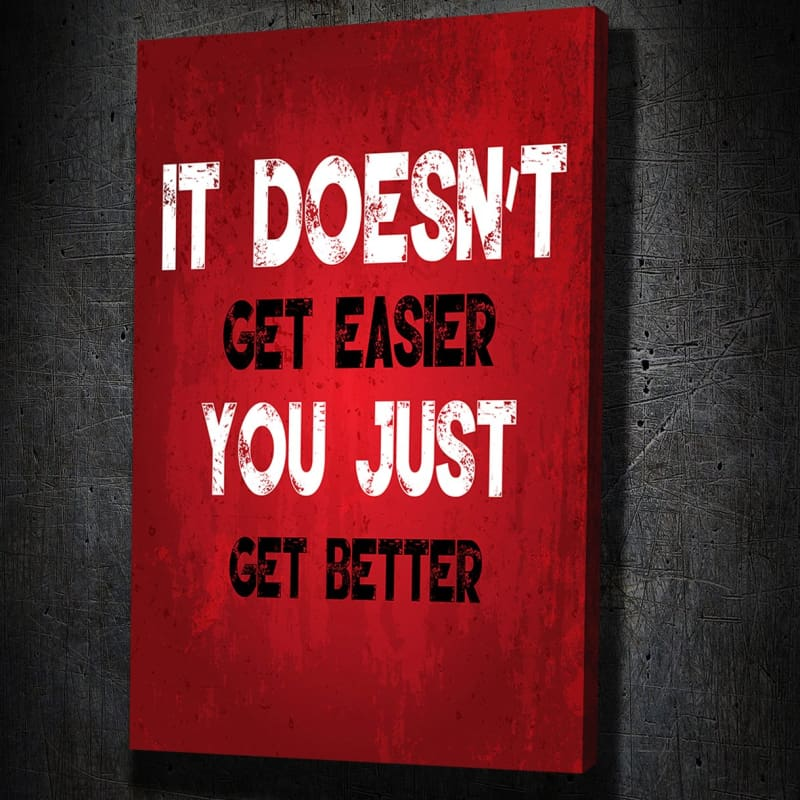 It Doesn't Get Easier - Artwork Addict