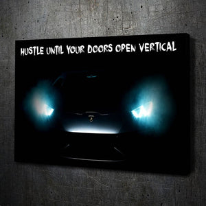 Lambo Doors Motivation - Artwork Addict