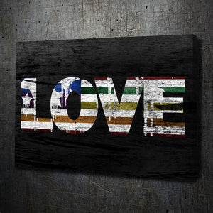 Love Rainbow Flag - Artwork Addict