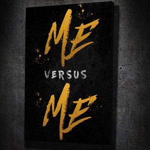 Me Vs Me - Artwork Addict