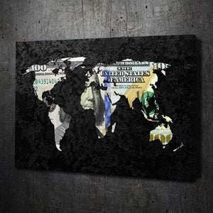 Money Map - Artwork Addict