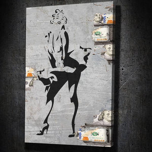 Marilyn Monroe Stencil Art - Artwork Addict