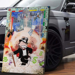 Monopoly Money Ball - Artwork Addict