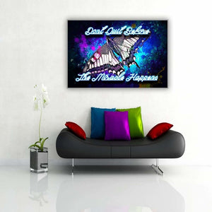 "Neon Butterfly ""Miracle"" - Artwork Addict"