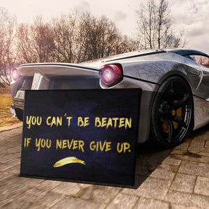 Never Give Up - Artwork Addict