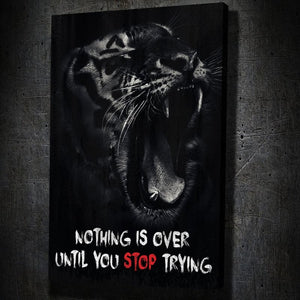 Nothing Is Over - Artwork Addict