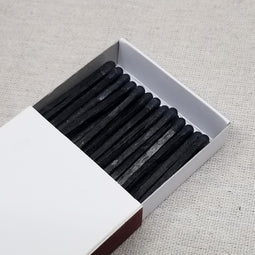 "3.75"" Matchsticks - Black on Black"