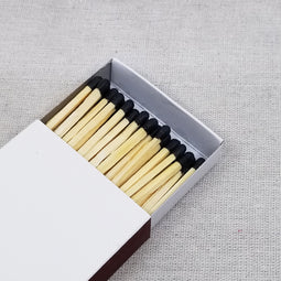 "4"" Matchsticks - Black - Bulk Rate"