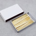 "4"" Matchsticks - White"