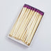 "4"" Matchsticks - Purple"