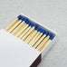 "4"" Matchsticks - Blue"