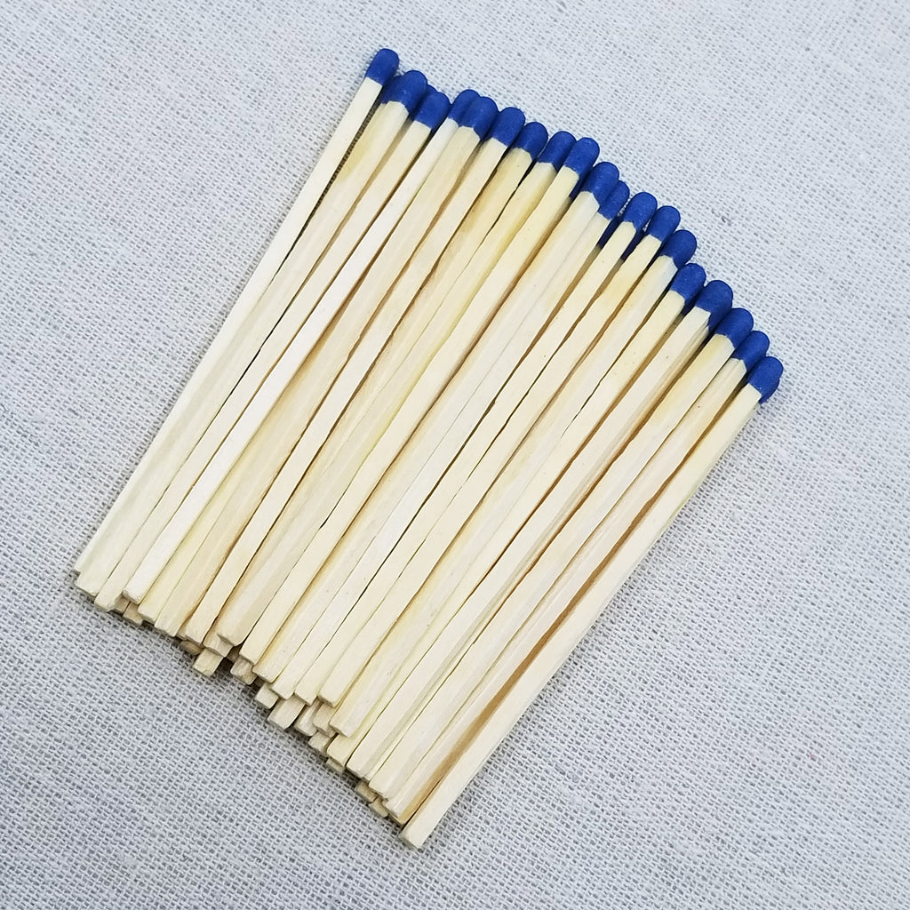 "4"" Matchsticks - Blue - Loose"
