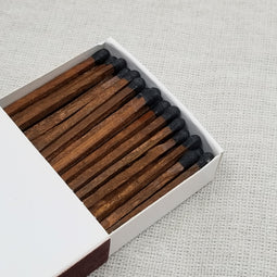 "4"" Matchsticks - Black on Cedar"