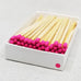 "4"" Matchsticks - Pink - Bulk Rate"
