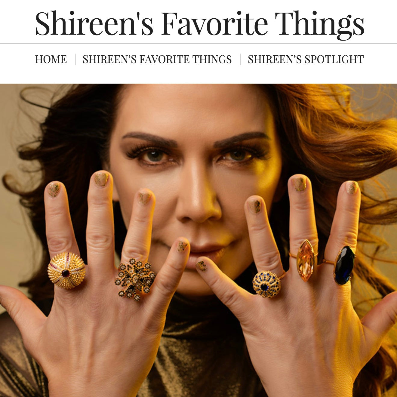 Cocktail Rings Shireen Sandoval