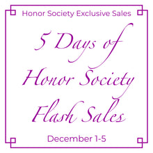 Honor Society Flash Sale